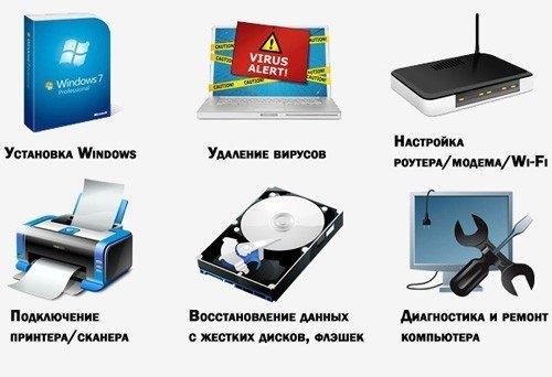 компьютерные услуги Хабаровск